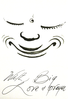 Drawing by Lama Zopa Rinpoche.