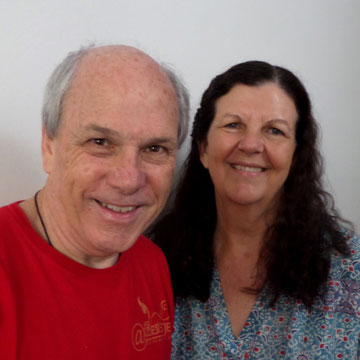 Gordon McDougall and Sandra Smith, Singapore 2016