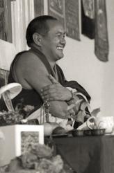 Lama Yeshe teaching, Manjushri Institute, England, 1976.