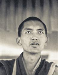 Lama Zopa Rinpoche teaching at the Sixth Meditation Course, Kopan Monastery, Nepal, 1974. Photo by Ursula Bernis.