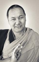 Lama Yeshe during the Yucca Valley course, 1977. Photo by Carol Royce-Wilder.