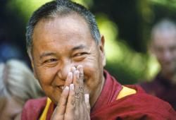 Lama Yeshe, Vajrapani Institute, California, 1983. Photo by Carol Royce-Wilder.