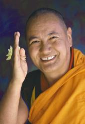 Lama Yeshe, Yucca Valley, California, 1977. Photo: Carol Royce-Wilder.