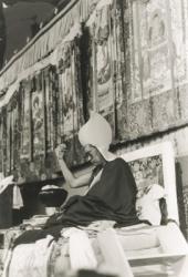 Lama Zopa Rinpoche at Kopan Monastery, 1987