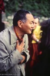 Lama Yeshe at Istituto Lama Tzong Khapa, 1982.