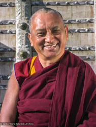 (34296_ng.jpg) A series of images of Lama Zopa Rinpoche from a photo shoot by Lenny Foster in Taos, New Mexico, 1999.