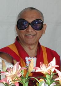 Lama Zopa Rinpoche in California, 2003.