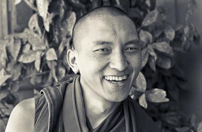 Lama Zopa Rinpoche in Tarzana, California, 1975. Photo: Carol Royce-Wilder.